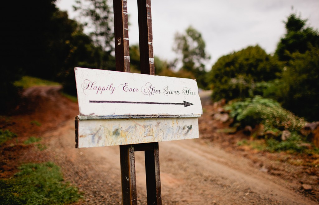 Happily Ever After Starts Here Country Wedding