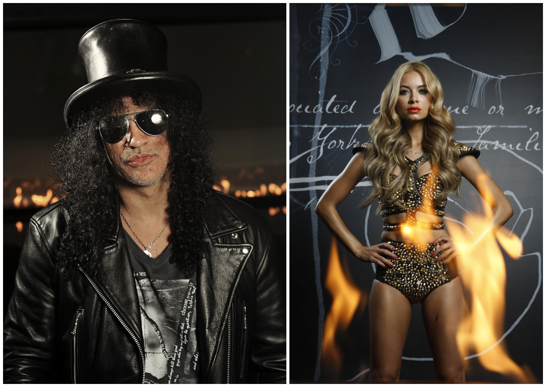 11/08/2010 FEATURES: Former Guns N Roses guitarist Slash in Melbourne.