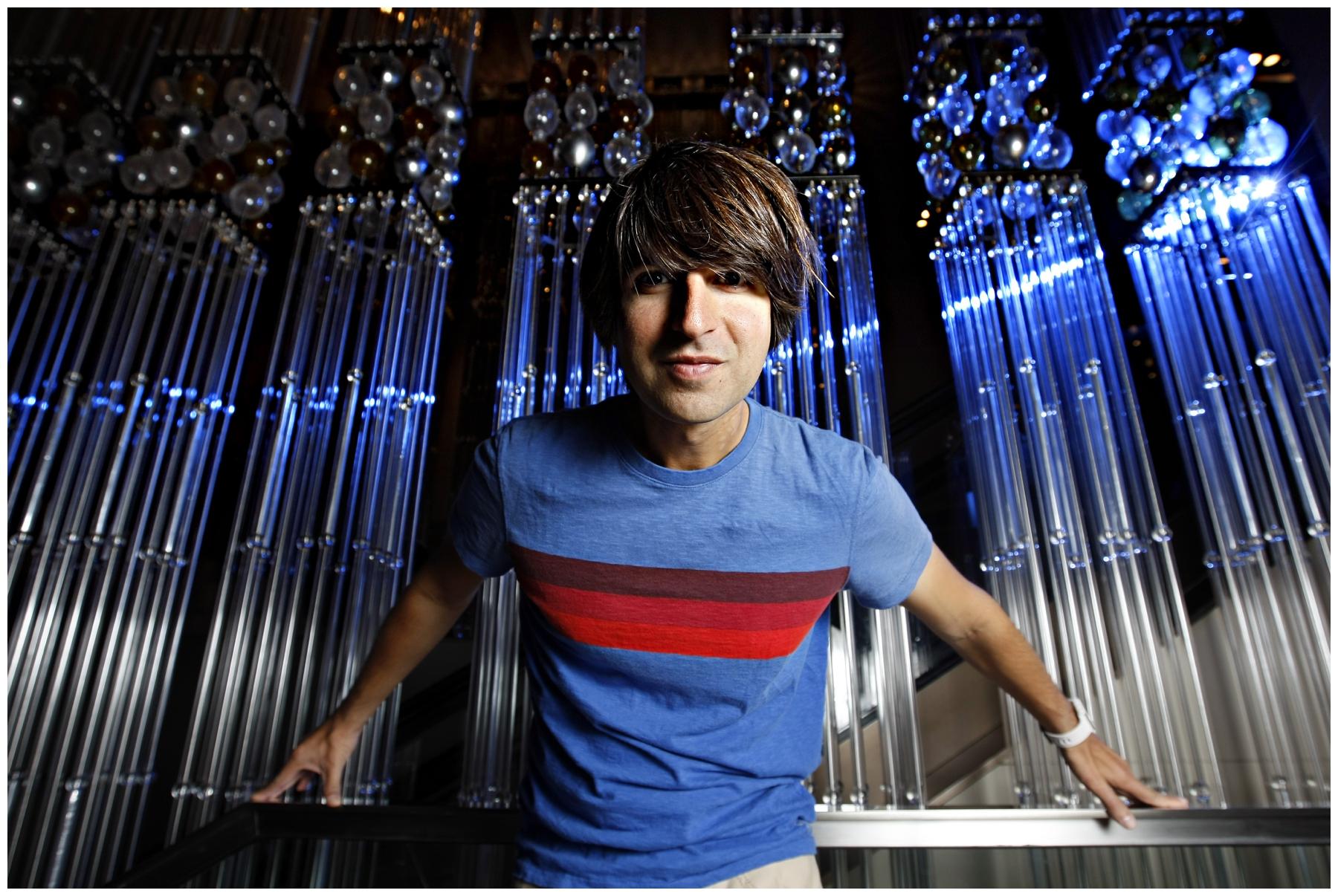 31/08/2011 NEWS: Comedian Demetri Martin in Melbourne.