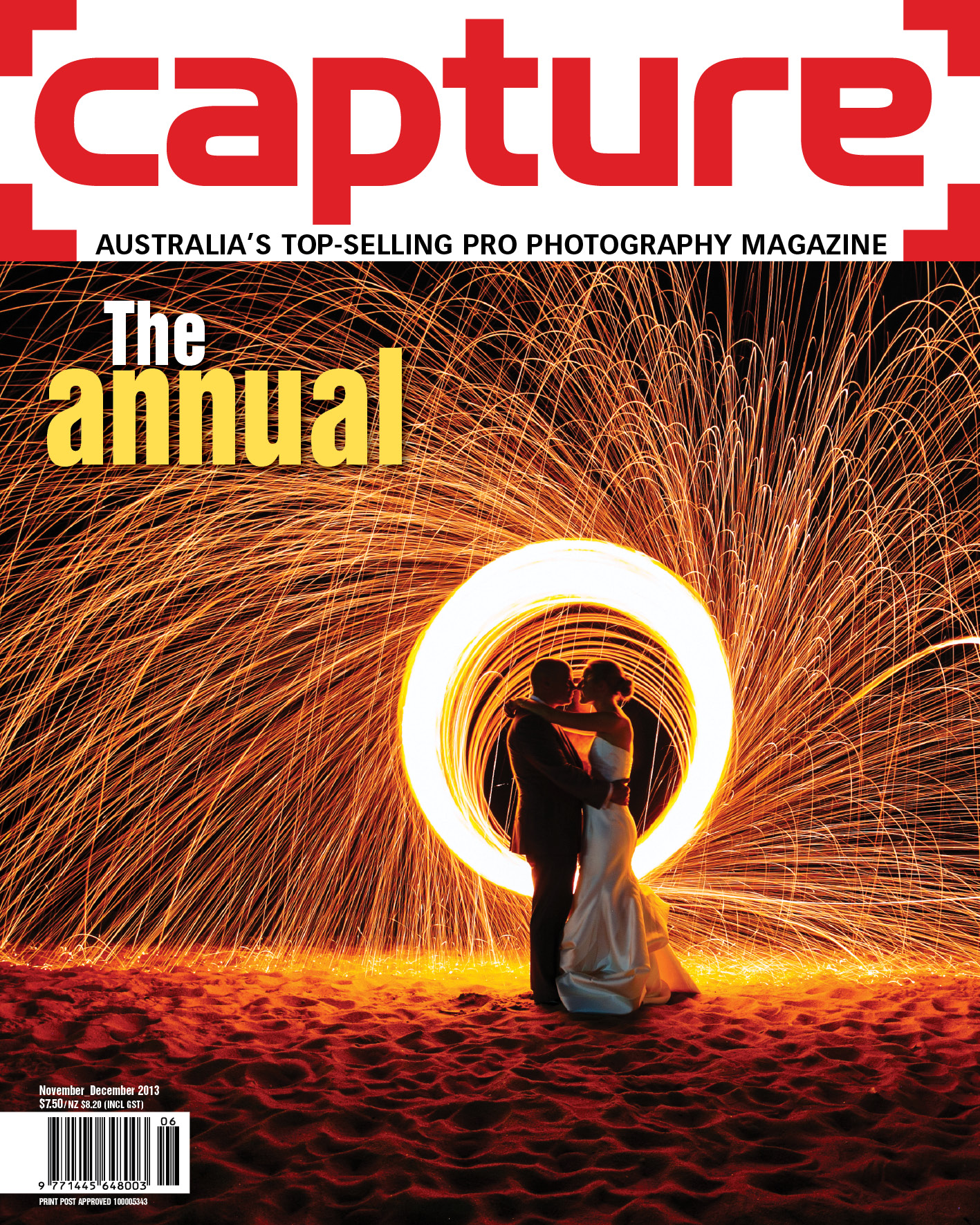 Ben Swinnerton_Melbourne Wedding Photographer_Capture The Annual Cover